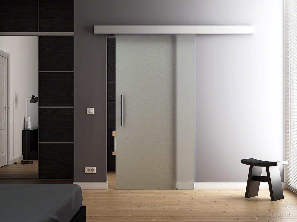 glasschiebet r 900x2050mm glast r schiebet r levidor ba1v9g ebay. Black Bedroom Furniture Sets. Home Design Ideas