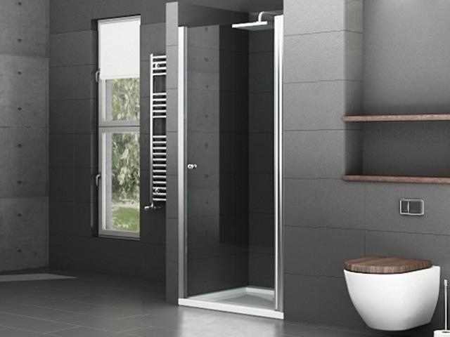 dusche glastur nische raum und m beldesign inspiration. Black Bedroom Furniture Sets. Home Design Ideas