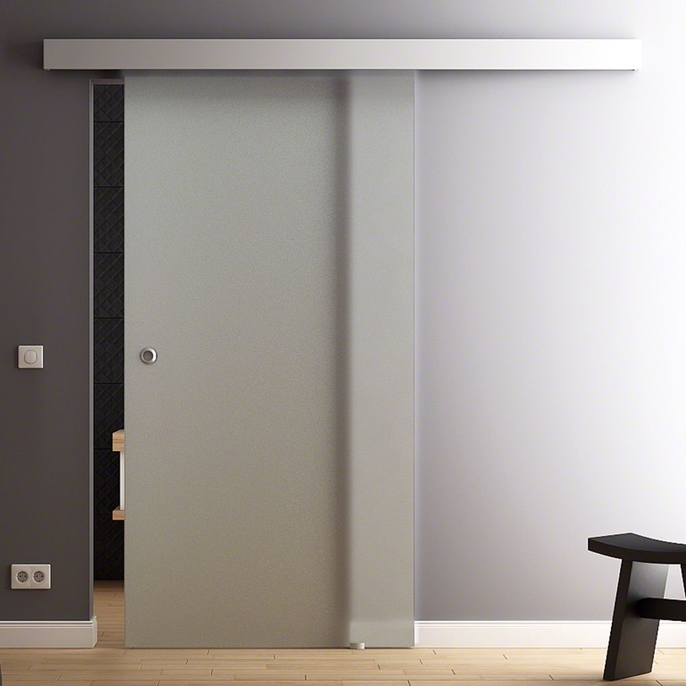 Levidor porta scorrevole vetro raso 1025 x 2050mm gp1v10m - Costo porta scorrevole vetro ...