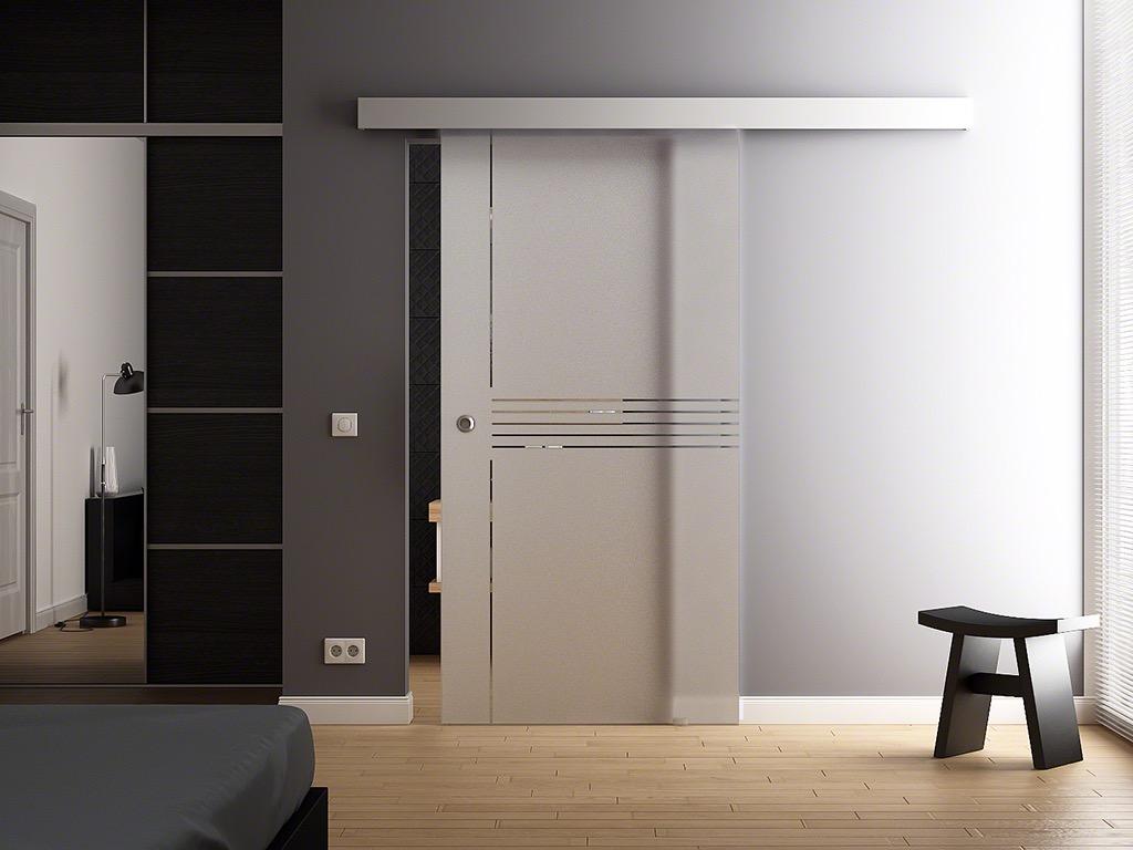 Levidor porta scorrevole vetro design 900 x 2050mm gp1i9m - Costo porta scorrevole vetro ...