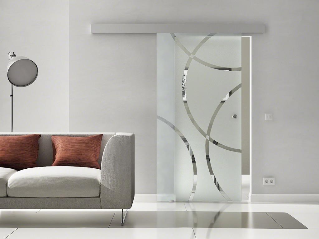 levidor glasschiebet r design 900 x 2050mm glast r schiebet r ec1c9m ebay. Black Bedroom Furniture Sets. Home Design Ideas