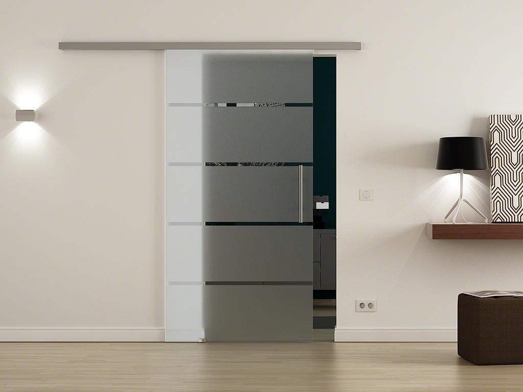 softclose glasschiebet r 900 x 2050mm levidor glast r. Black Bedroom Furniture Sets. Home Design Ideas